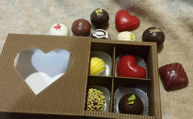 いろんなチョコレートのマグネット