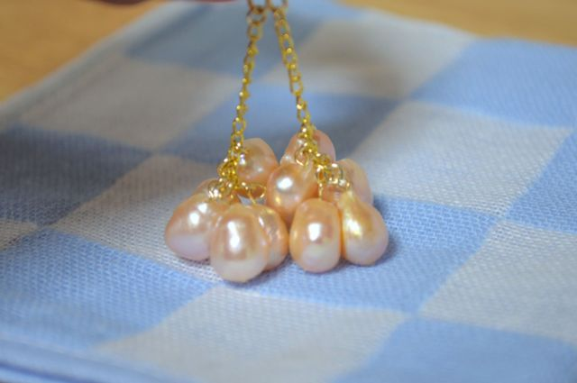 真珠(淡水パール)のピアス