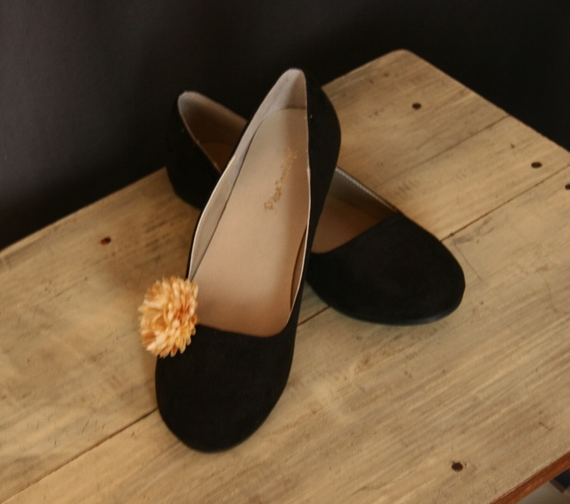 shoe clip / マム:ベージュ系1
