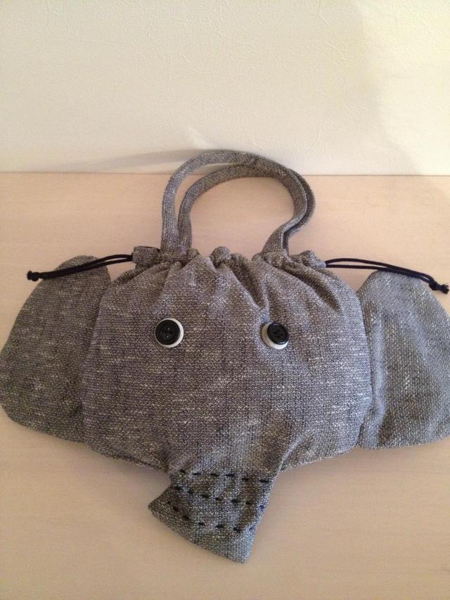 《Dさまオーダー》ぞうさんのバッグ