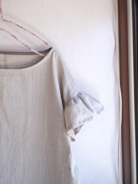 ダブルガーゼふんわり袖チュニック(1点のみ)