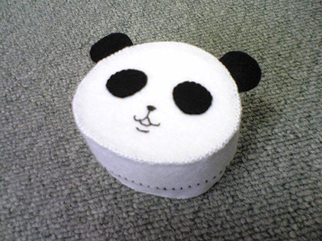 パンダちゃん布小箱