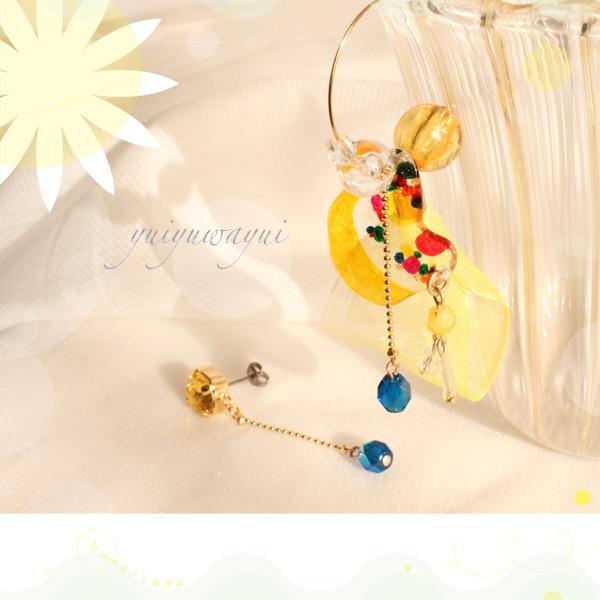 ヒマワリノトモダチの耳飾り*(1)