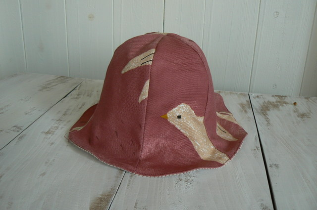 可愛い鳥さん帽子 Kitz  (約50cm~...