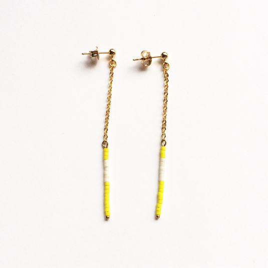 long beads pierce