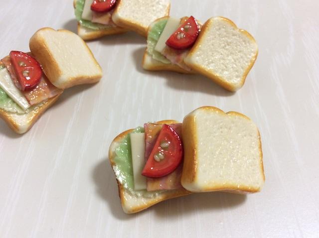 サンドイッチブローチ