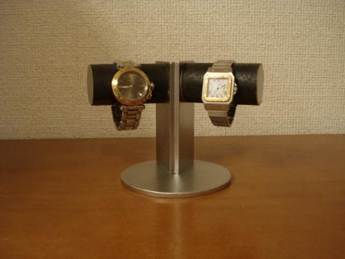 腕時計スタンド 支柱角度付き2本掛けディスプレイスタンド プレゼントに!