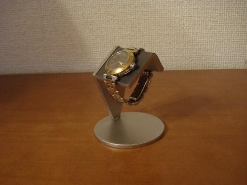 父の日に!腕時計スタンド ブラック一本掛け腕時計スタンド
