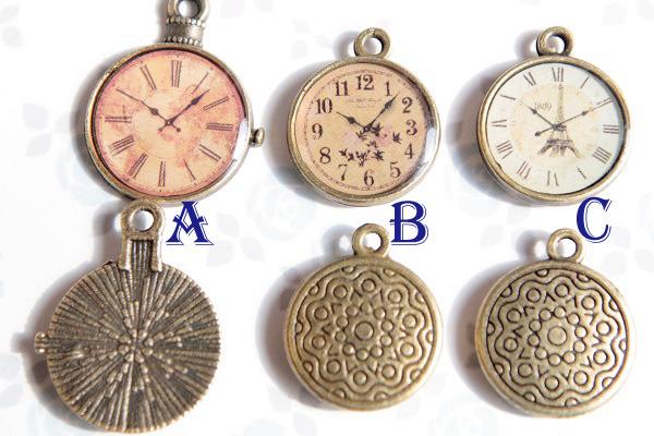 選べる♪時計のイヤリングorピアス(送料無料 )