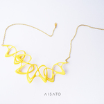Dancing Necklace Yellow 4chain ダンシングネックレス イエロー
