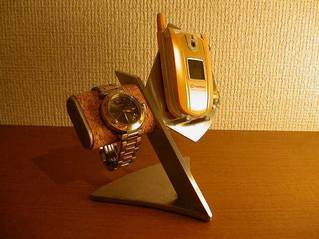 腕時計スタンド 携帯電話、スマホ&腕時計 スタンド