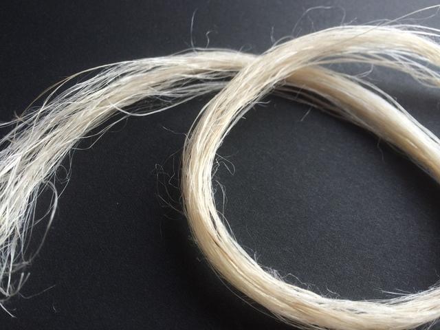麻績み用繊維(糸の作り方ガイド付き)
