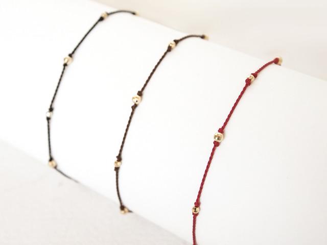 K10 Mirrorball Cord Bracelet