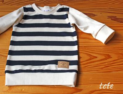 ☆C様オーダー分☆【size140】キッズTシャツ太ボーダー