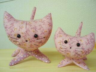 子ネコのマスコット~ラベンダー-