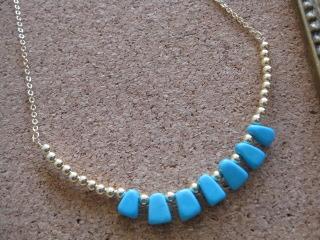 トルコ石(ターコイズ)ネックレス