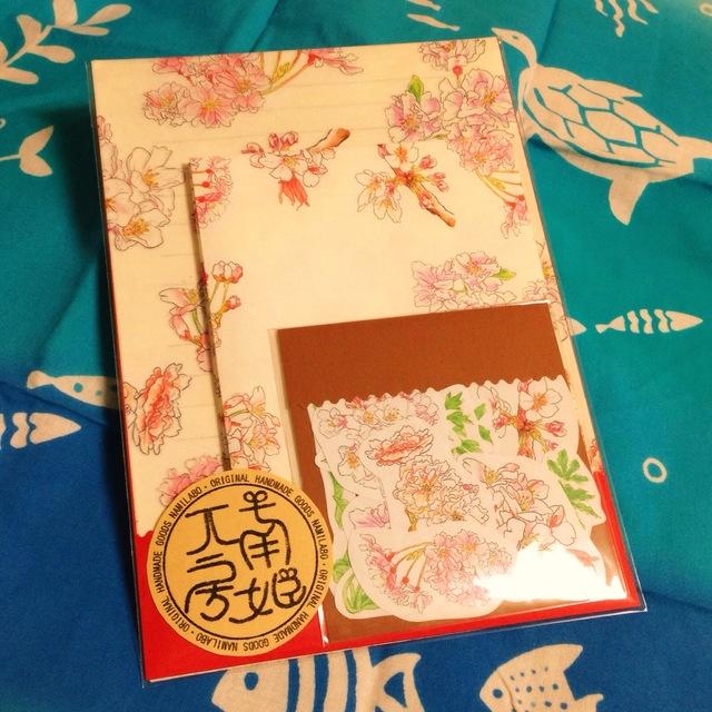 ナミラボ【桜レターセット】チャリティー商品
