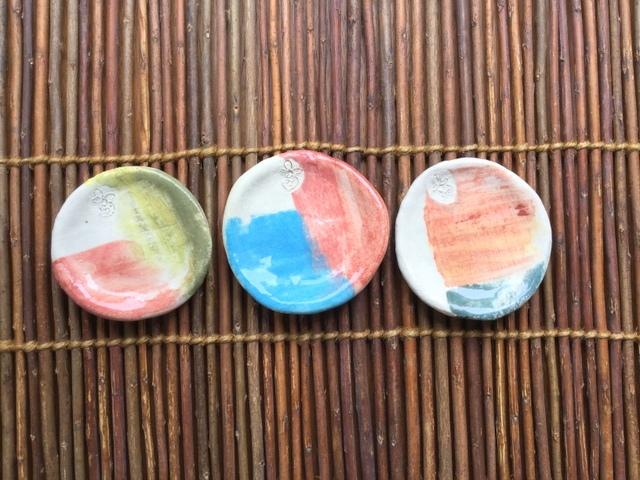 ★カラフル豆皿3枚セット