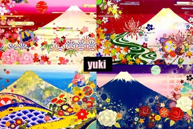 富士山ポストカード 四季 4種セット