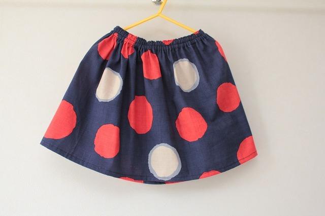 子供用スカート(マル)