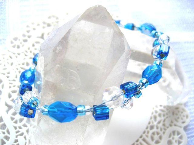 青い宝石の島々(ブレスレット)_328 s2  18p