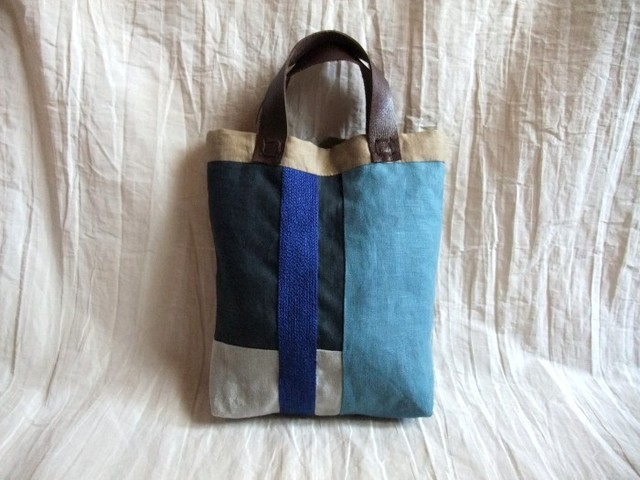 itoiro mini bag (blue)