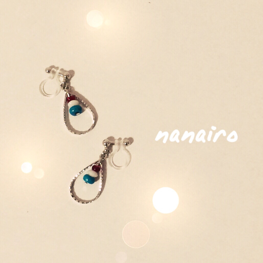 イヤリング『natsuiro』