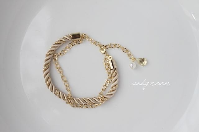 Z85 Rope bracelet BE 15cm