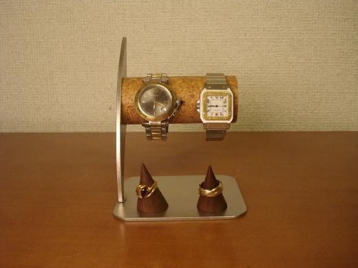 ウォッチスタンド リングスタンド付き腕時計スタンド