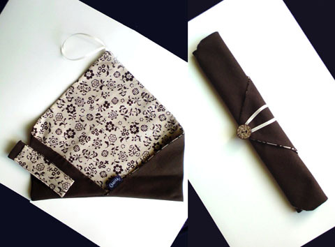 箸袋【ブラウン】