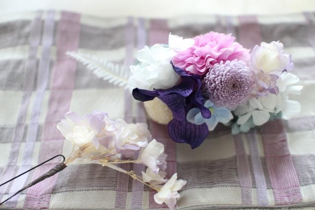 japanese style * head dress  #101     [和装や浴衣ヘッドドレス]