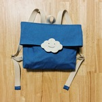 Backpack smile blue