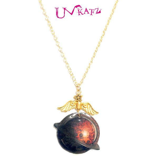 Ukatz/NO.248 地球儀のネックレス