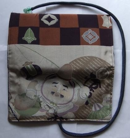 着物リメイク 長襦袢で作った和風財布 1457