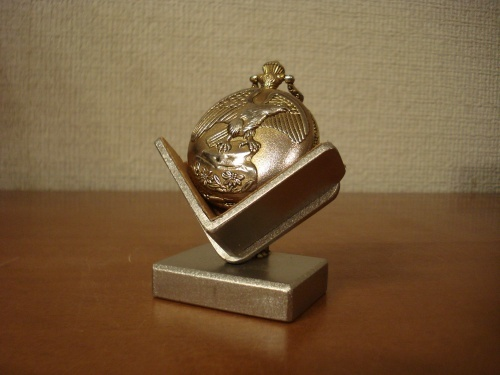懐時計スタンド 2本爪固定懐中時計ディスプレイ AKデザイン