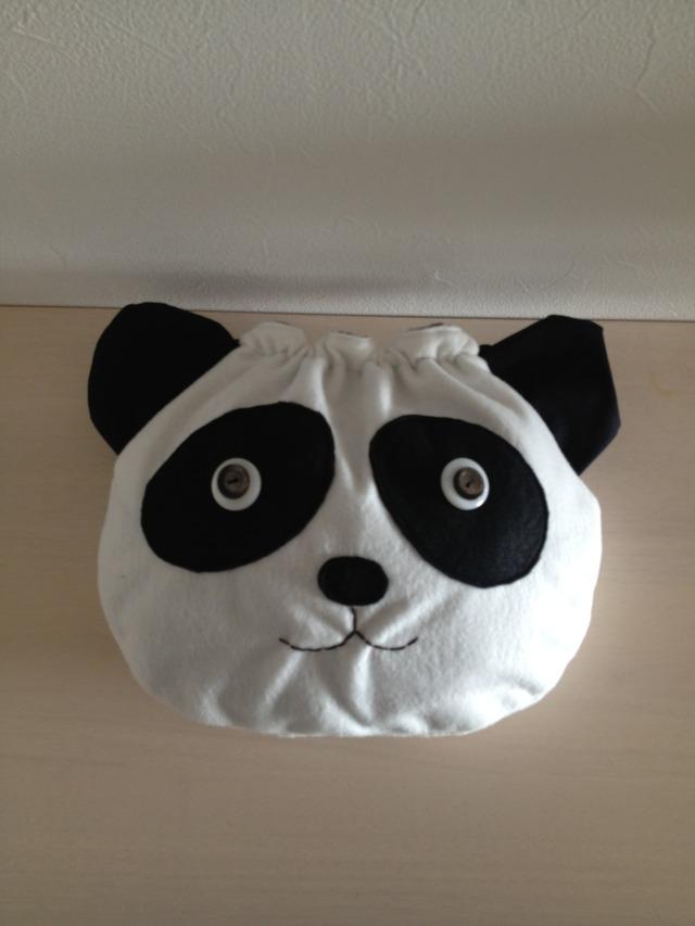 パンダさんの巾着