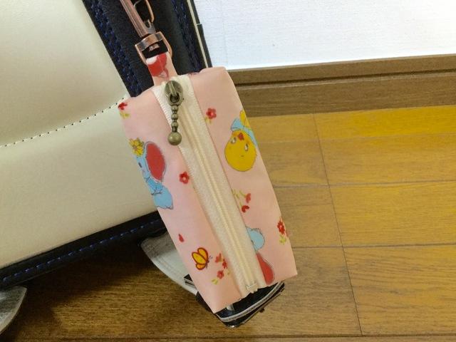 ランドセル用キーケース☆レトロアニマル柄