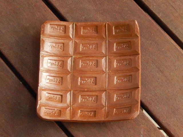 チョコレートの皿
