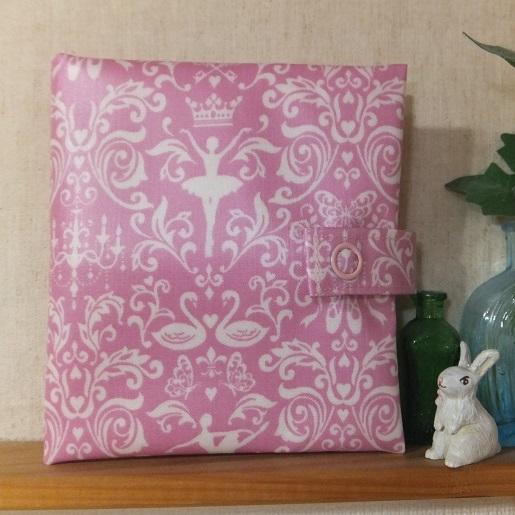 バレリーナの携帯ボックスティッシュケース・ピンク