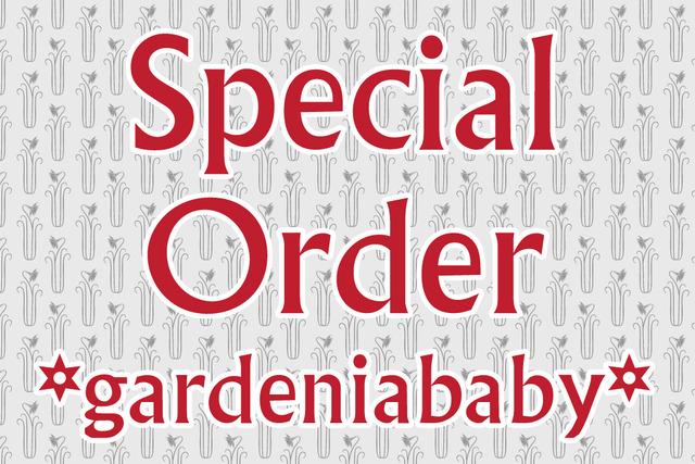 gardeniababy様専用 オーダー商品 ブートニエール