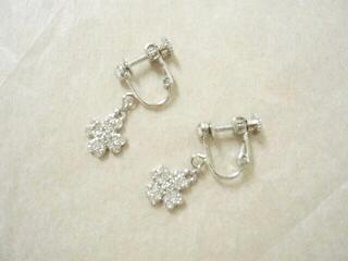 【L・Liz】クローバーのイヤリング ~ silver~