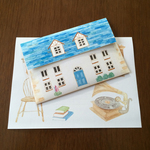 Letter Set Blue Roof Home(レターセット)