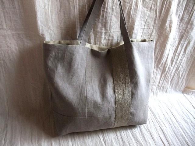 itoiro bag (gray beige)