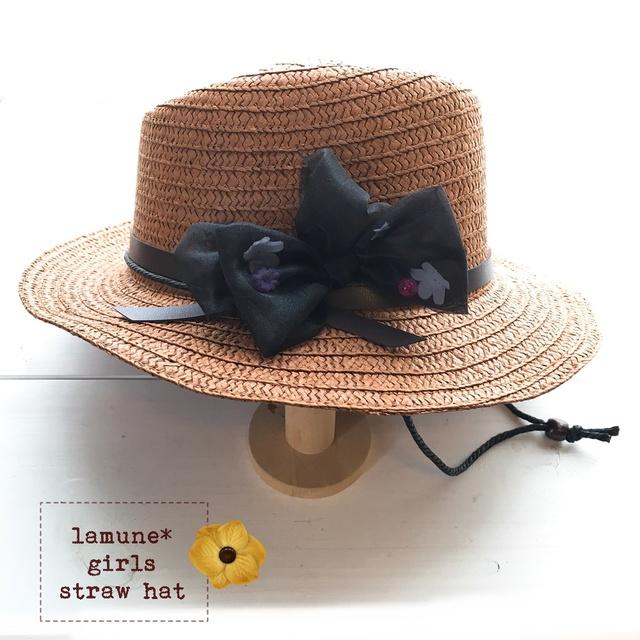 �ں���?�� ������!�����ɥ������˹��*��brown��brack-ribbon*�� ((Ƭ��52cm))