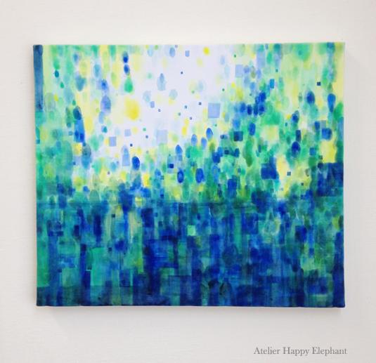 blue variation #4