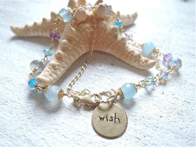 Mermaid's wish    2連ブレスレット