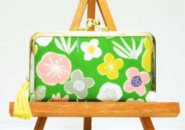 カードケース(flower・green)