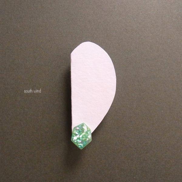 【水鱗】(Apple green) イヤーカフ