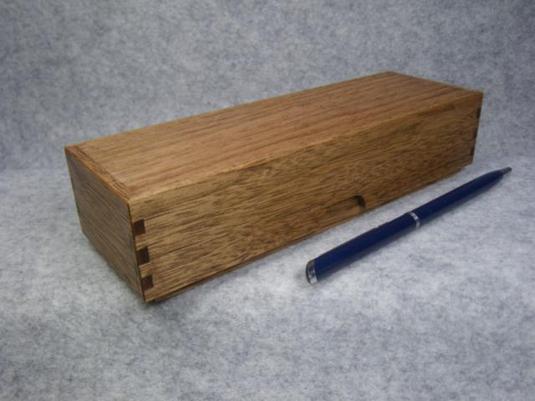 品番1213筆箱被蓋クルミC