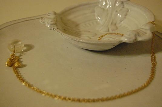 マカロンの結晶ネックレス 4